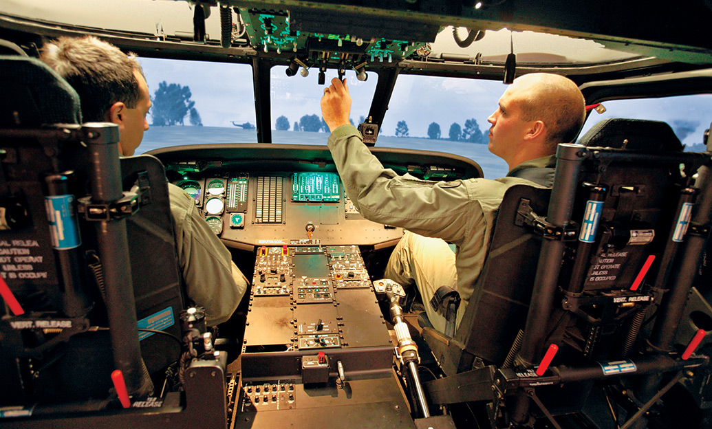 Government And Military Flight Simulator Training And