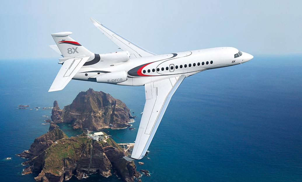 Aircraft-training-Dassault-Falcon